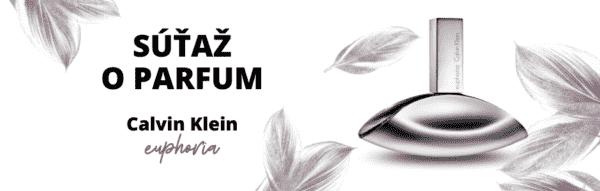 Súťaž o dámskú parfumovanú vodu Calvin Klein Euphoria