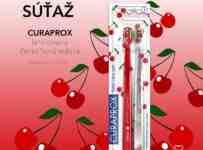 Súťaž o limitovanú čerešňovú edíciu zubných kefiek CURAPROX