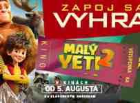 Súťaž o lístky do kina na rodinný film a 3 tričká Malý Yeti