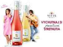 Súťaž o perlivé víno VITIS Galéria Frankovka modrá rosé a Müller Thurgau
