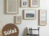 Súťaž o štyri rámy na fotky Gitta v drevenom prevedení
