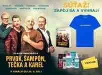 Súťaž s úspešnou komédiou PRVOK, ŠAMPÓN, TEČKA A KAREL