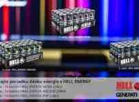 Exkluzívna súťaž o poriadku dávku energeťákov Hell