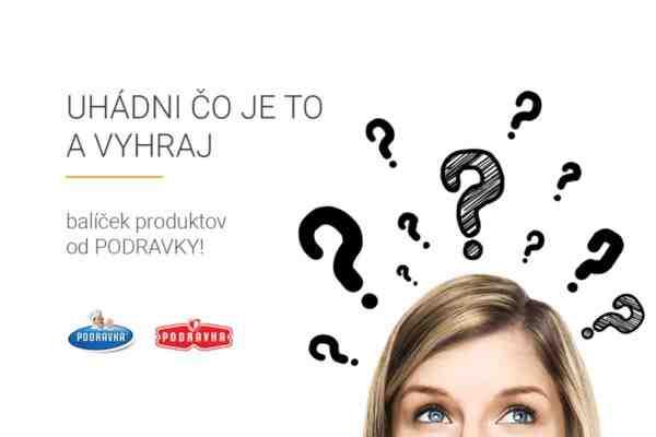 Súťaž o balíček produktov od PODRAVKY
