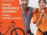 Súťaž o našliapaný bicykel