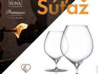 Súťaž o ručne vyrobené poháre na brandy značky RONA