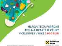 Vyhrajte až 200€ s Parádnymi jedlami