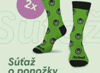Súťaž o 2 páry ponožiek iRobot
