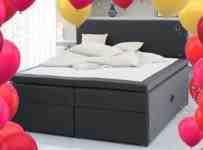 Súťaž o kontinentálnu posteľ GOLD C50 s úložným priestorom