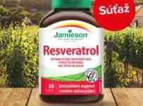 Súťaž o prírodný antioxidant Jamieson Resveratrol