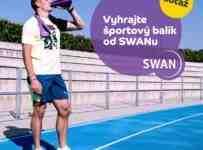 Súťaž o športové balíčky od SWANu